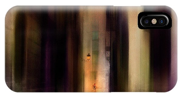Alley iPhone Case - Cityscape (2) by Sol Marrades