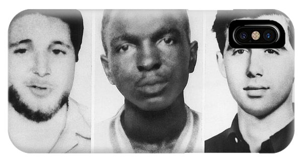 Andrew iPhone Case - Civil Rights Workers Murdered by Underwood Archives