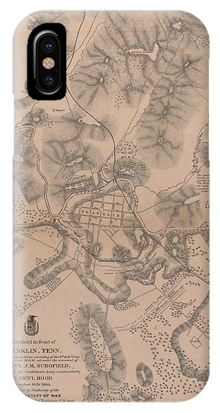 Civil War Battlefield In Front Of Franklin Tennessee IPhone Case