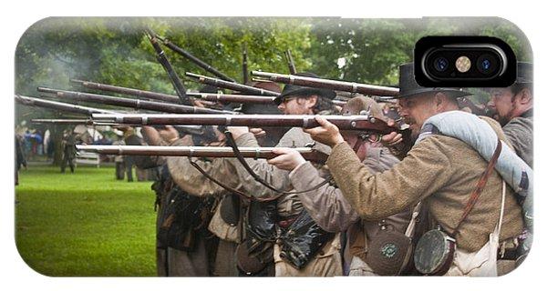 Civil War Reenactment 1 IPhone Case