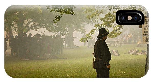 Civil War Reenactment 3 IPhone Case