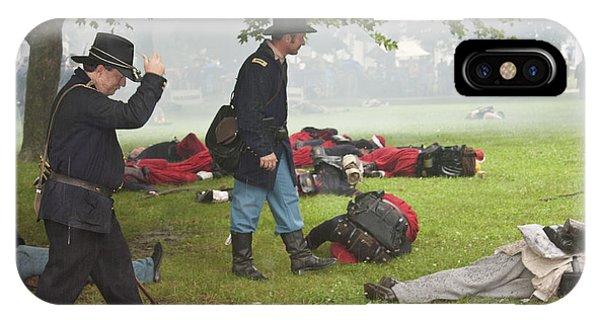 Civil War Reenactment 4 IPhone Case