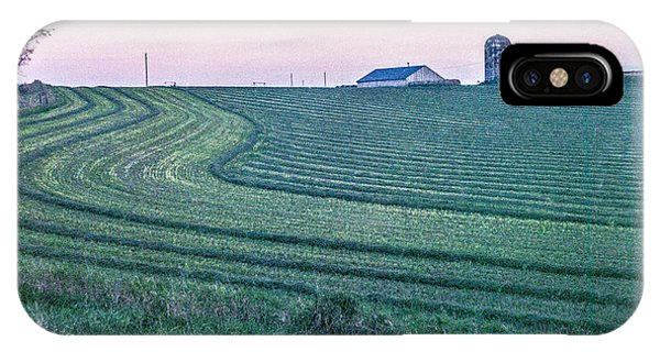 Farm Fields At Dusk IPhone Case