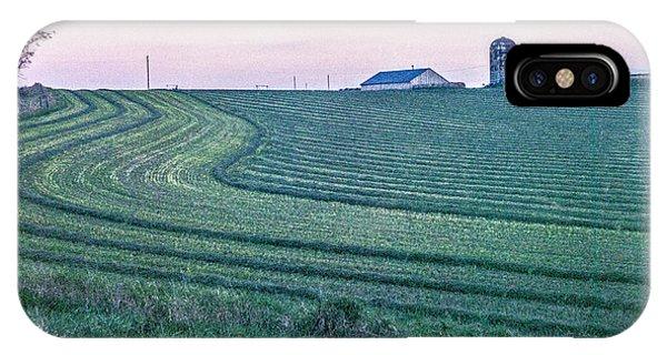 Farm Fields At Dusk IPhone Case
