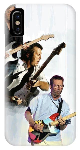 Clapton Eric Clapton IPhone Case