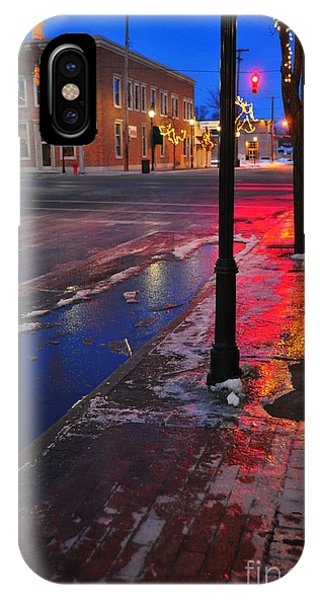 Clare Michigan At Christmas 10 IPhone Case