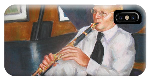 Clarinet At Palm Court IPhone Case