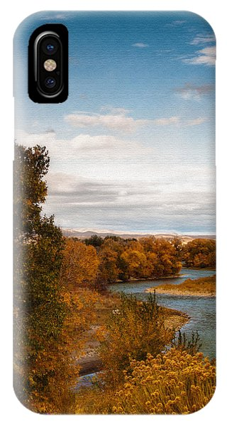Clark Fork Of The Yellowstone IPhone Case