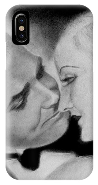 Clark Gable And  Carole Lombard IPhone Case