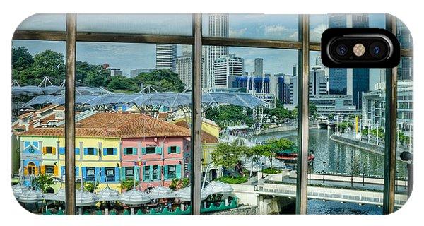 Clarke Quay Singapore IPhone Case