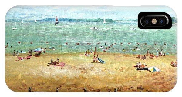 Carlyle Lake Beach In Il IPhone Case