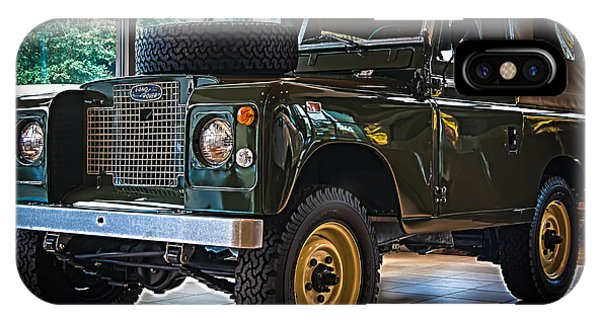 Classic 1969 Land Rover Series IIa IPhone Case
