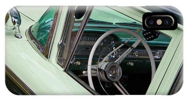 Classic Automobile Interior IPhone Case