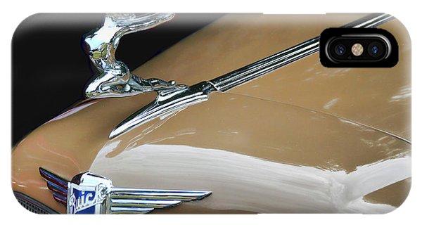 Classic Car - Buick Victoria Hood Ornament IPhone Case