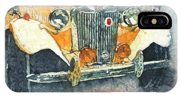 iPhone Case - Classic Car by Karen Langley