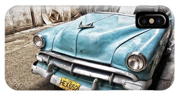 Classic Chevrolet Blue IPhone Case