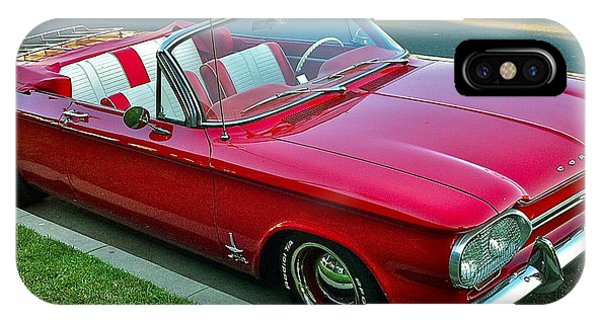 Corvair iPhone Case - Classic Corvair by Denise Mazzocco