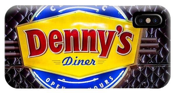 Classic Dennys Diner Sign IPhone Case