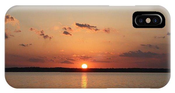 Classic Lake Sunset IPhone Case