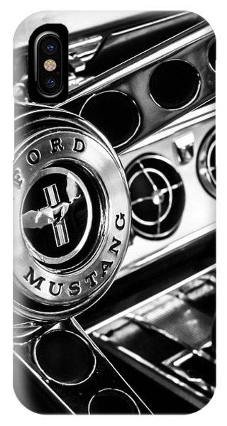 Classic Mustang Interior IPhone Case