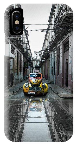 Landmark iPhone Case - Classic Old Car In Havana, Cuba by Svetlin Yosifov