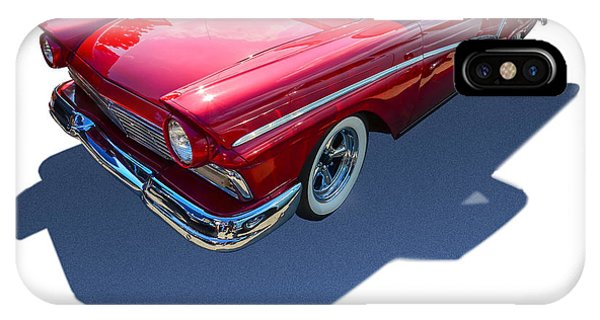 Auto Show iPhone Case - Classic Red Truck by Gianfranco Weiss