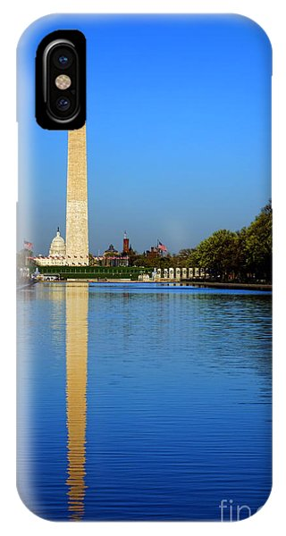 Lincoln Memorial iPhone Case - Classic Washington by Olivier Le Queinec