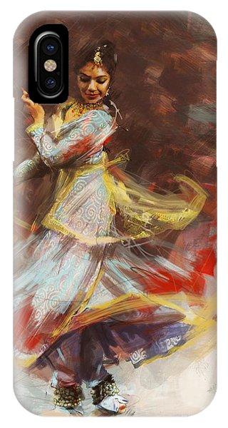 Classical Dance Art 8 IPhone Case