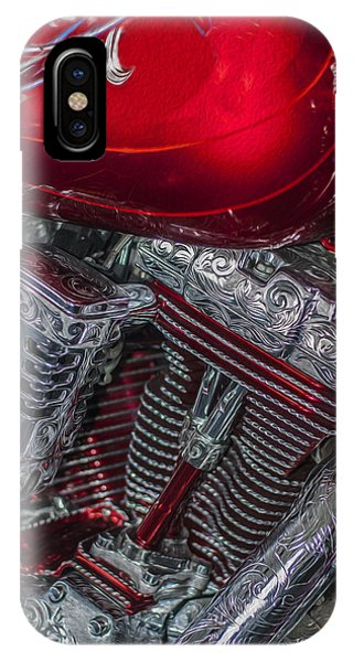 Illusion iPhone Case - Classy Harley Davidson by Jack Zulli