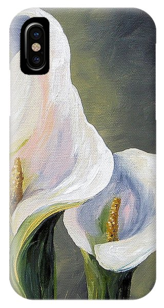 Claudia's Calla Lilies IPhone Case