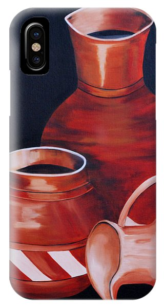 Clay Pots IPhone Case