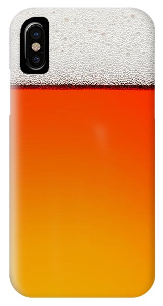 Background iPhone Case - Clean Beer Background by Johan Swanepoel