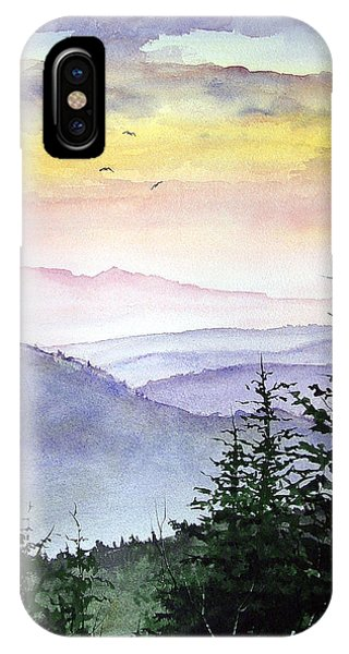 Clear Mountain Morning II IPhone Case