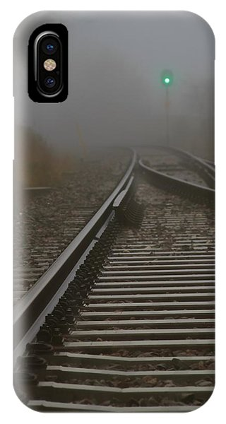 Clear Track IPhone Case