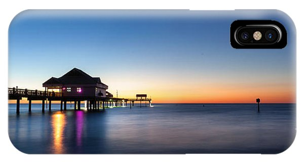 Clearwater Beach Pier IPhone Case