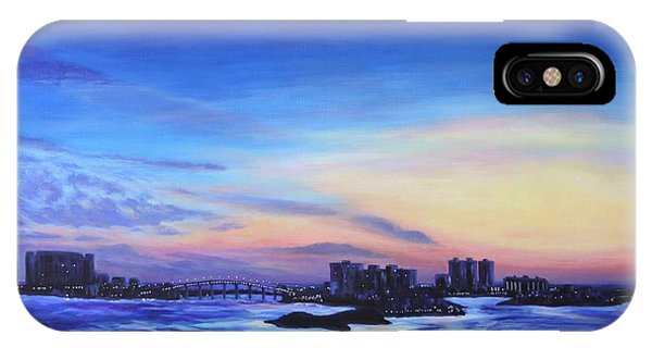 Clearwater Beach Sunset IPhone Case