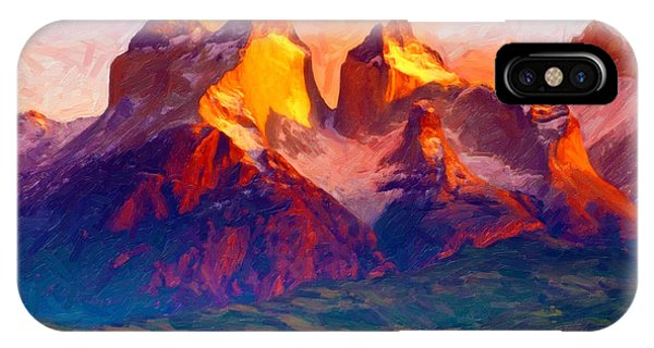 Cleft Summit IPhone Case