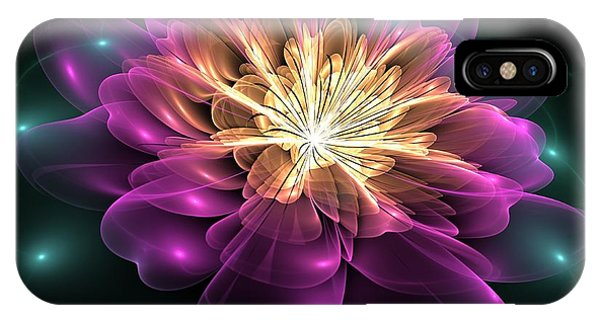 Clematis Magica IPhone Case