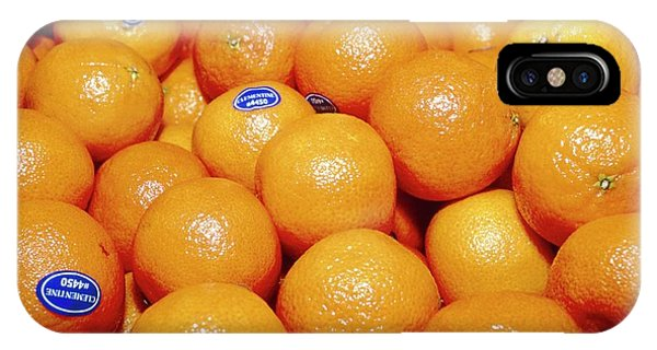 Hybrid iPhone Case - Clementines by Annabella Bluesky/science Photo Library