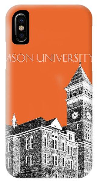 Clemson University - Coral IPhone Case