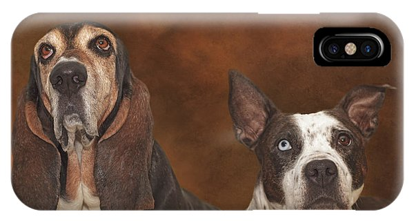 Cleopitra And Elvis  IPhone Case
