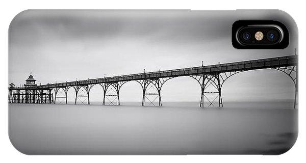 Bridge iPhone Case - Clevedon Pier by Catalin Alexandru