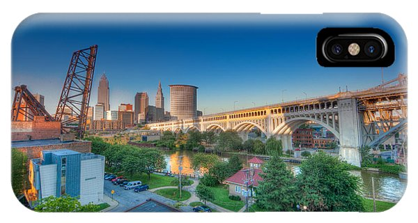 Cleveland Abstract Hdr IPhone Case