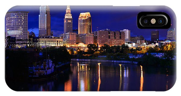 Cleveland At The River's Bend IPhone Case