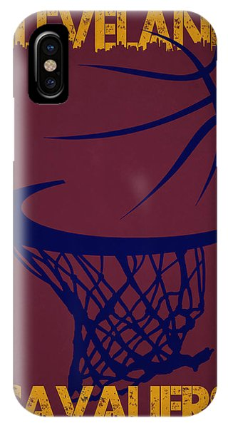 Cleveland Cavaliers Hoop IPhone Case
