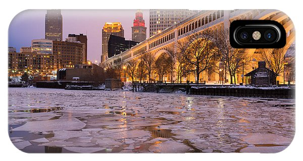 Cleveland Ice Chips Skyline IPhone Case