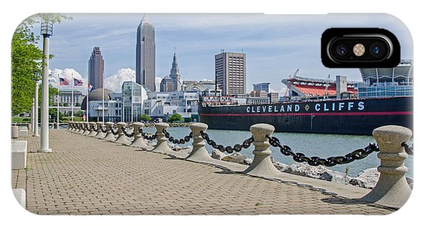 Cleveland Lake Front IPhone Case
