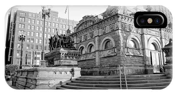 Cleveland Monument IPhone Case