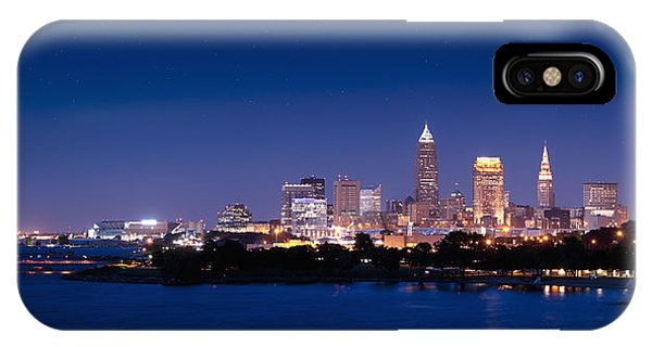 Cleveland Skyline Dusk IPhone Case
