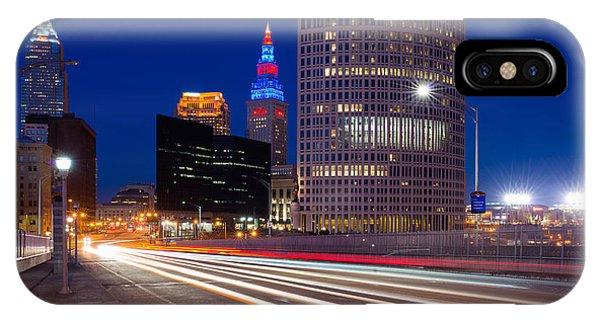 Cleveland Skyline Masterpiece IPhone Case